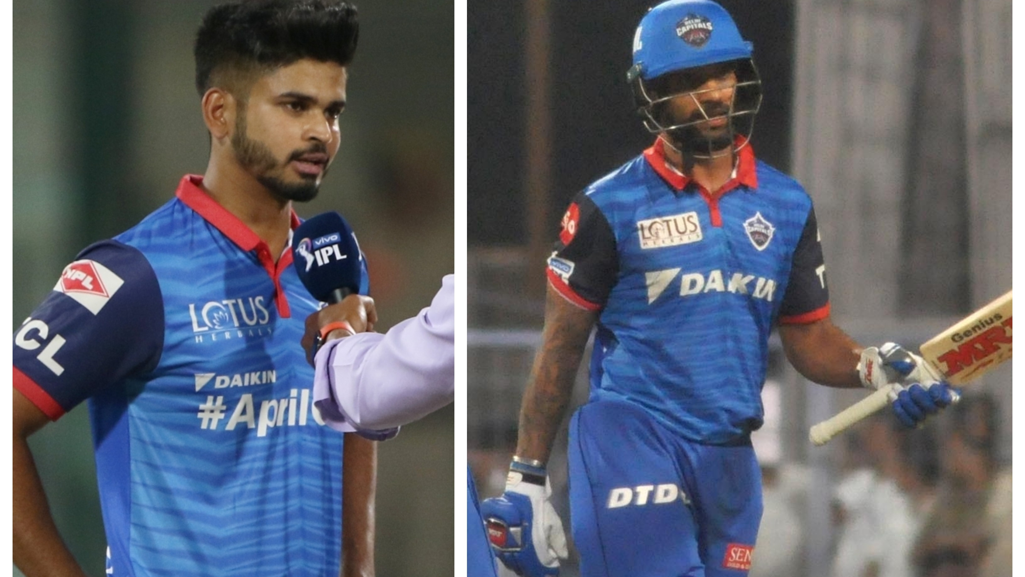 IPL 209: DC skipper Shreyas Iyer lauds Shikhar Dhawan for batting with responsibility against KKR