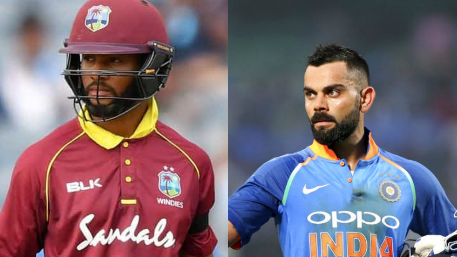 IND v WI 2018: 3rd ODI – Shai Hope's 95 triumphs Virat Kohli's 107 as Windies win by 43 runs; series tied 1-1