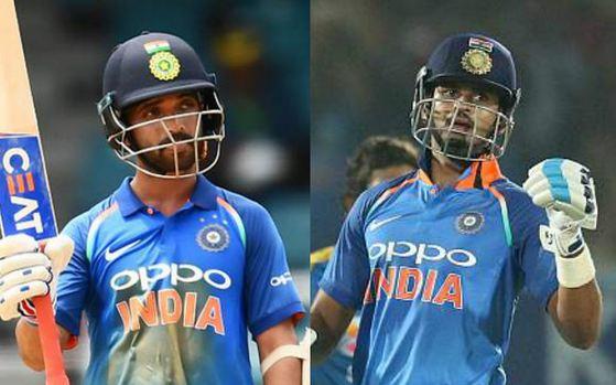 Ajinkya Rahane and Shreyas Iyer