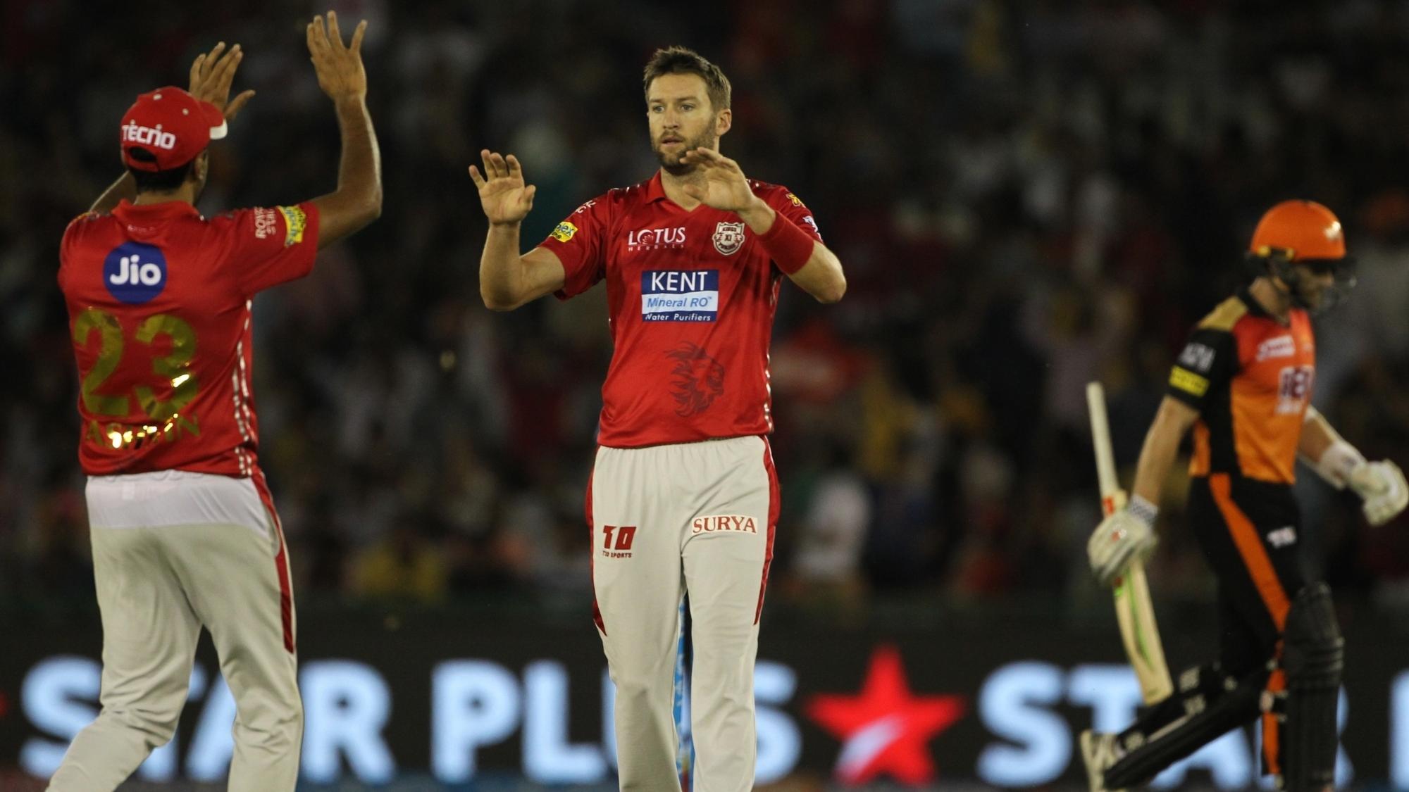 IPL 2018:  Andrew Tye praises