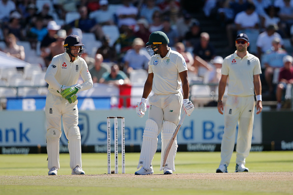 Buttler uses cuss words at Philander during the Cape Town Test   Getty