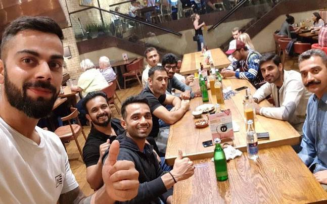 The delicious menu that the Indian team is gorging on in South Africa