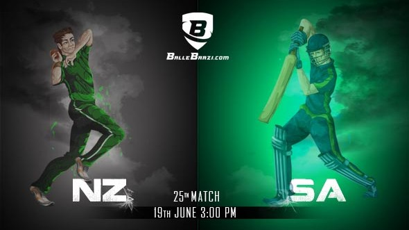 CWC 2019: Match 25, New Zealand vs South Africa: Best BalleBaazi Combination, Tips, Lineups & Team News