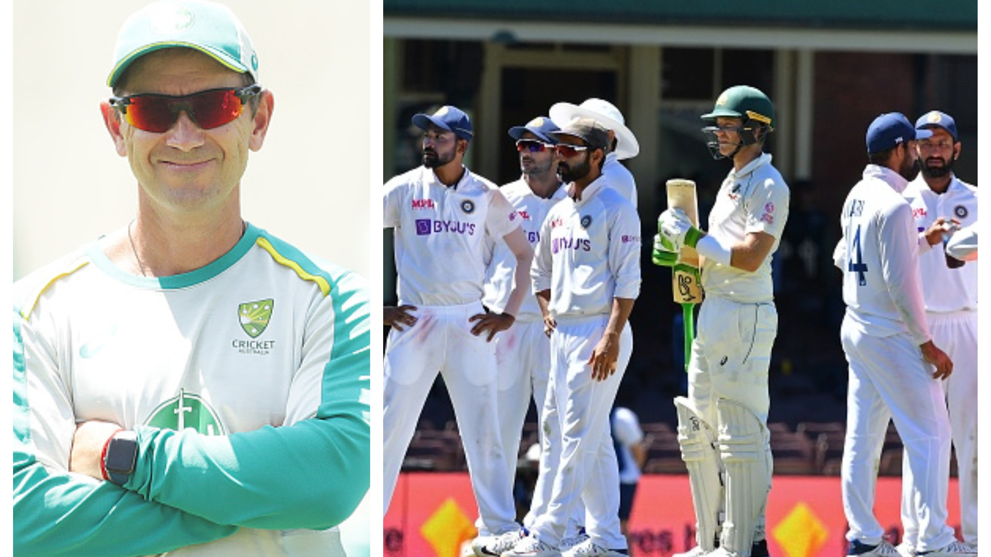 AUS v IND 2020-21: 'He's a class act', Langer praises Paine for joining India huddle as racism hits Sydney Test