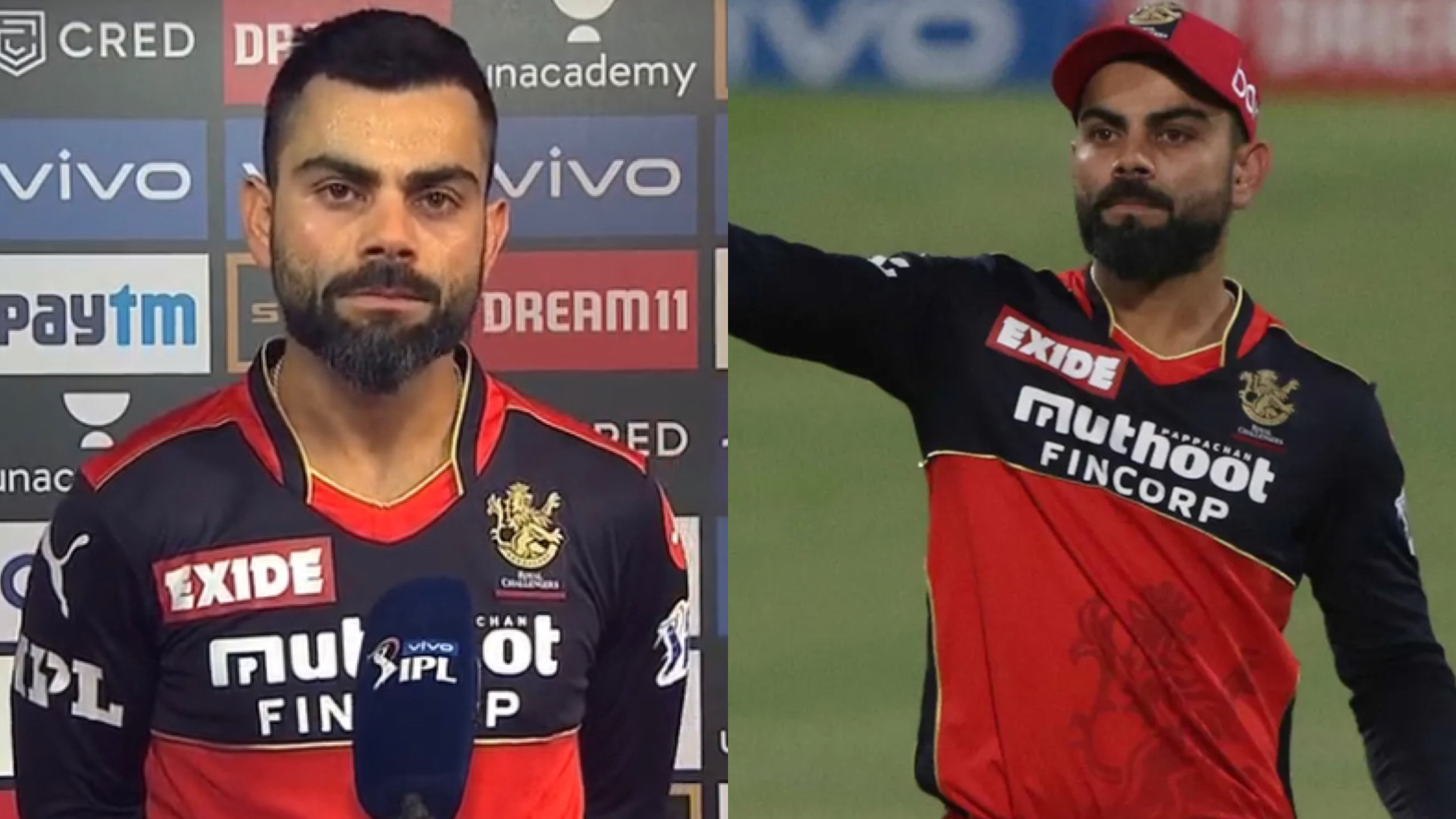 IPL 2021: WATCH - 'I have given 120% to this franchise every time', says Virat Kohli as he bids farewell to RCB captaincy