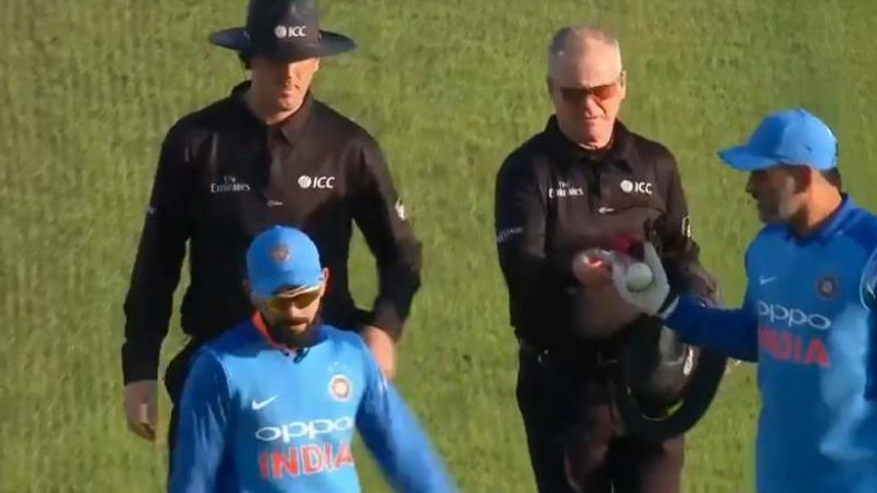 ENG v IND 2018: MS Dhoni reveals why he took the ball from the umpires after the 3rd ODI