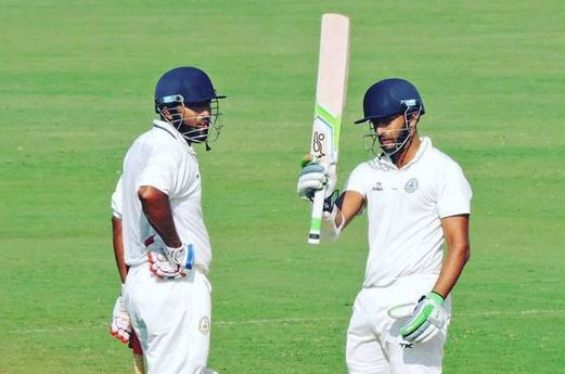 Faiz Fazal and Wasim Jaffer were the top scorers for Vidarbha