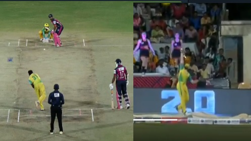 WATCH: Shahrukh Khan's one-handed catch on boundary left Dean Jones flabbergasted