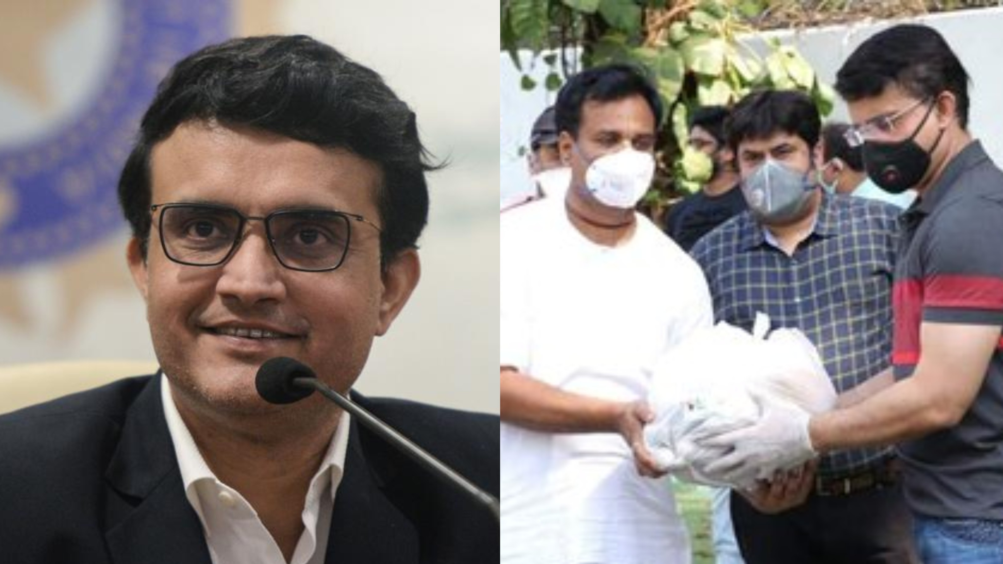 Sourav Ganguly collaborates with ISKCON to help needy amid COVID-19 lockdown