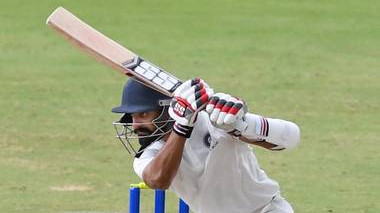 Nikhil Gangta rates his Duleep Trophy final innings as  his best till now