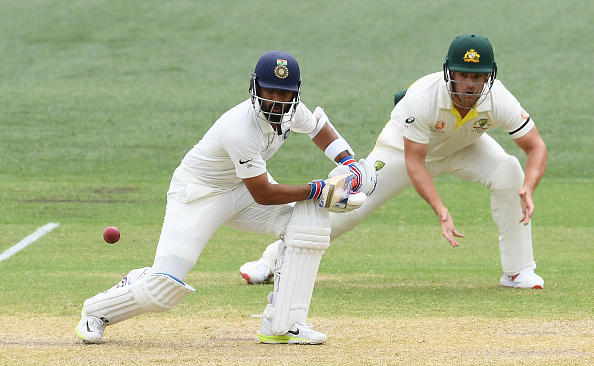 Rahane batted confidently despite being faced with a difficult situation | Getty