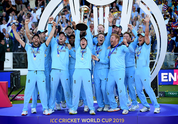 England won the World Cup 2019   Getty