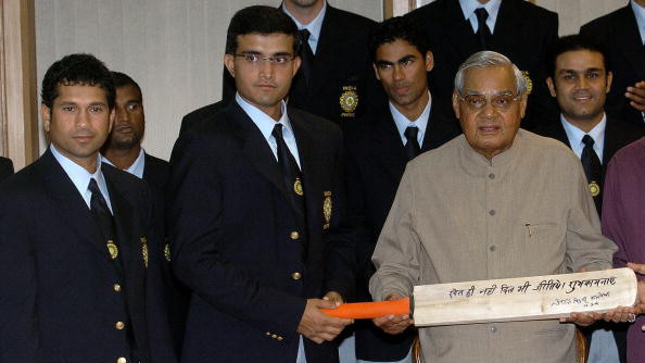 Atal Bihari Vajpayee – a giant amongst Indian politicians, whose efforts led to resumption of cricketing ties between India and Pakistan