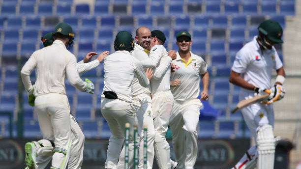 PAK v AUS 2018: Second Test - Day 1 : Statistical Highlights