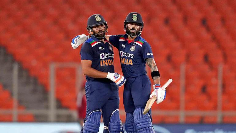 Virat Kohli and Rohit Sharma | Getty Images