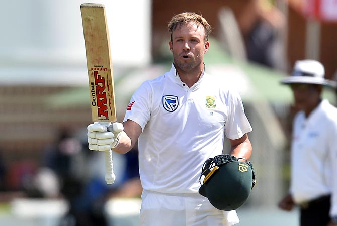 AB de Villiers scored 22 hundreds in Test and 25 hundreds in ODI cricket. (photo - Getty)