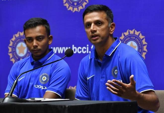 Rahul Dravid has full faith in India U19 team winning the tournament