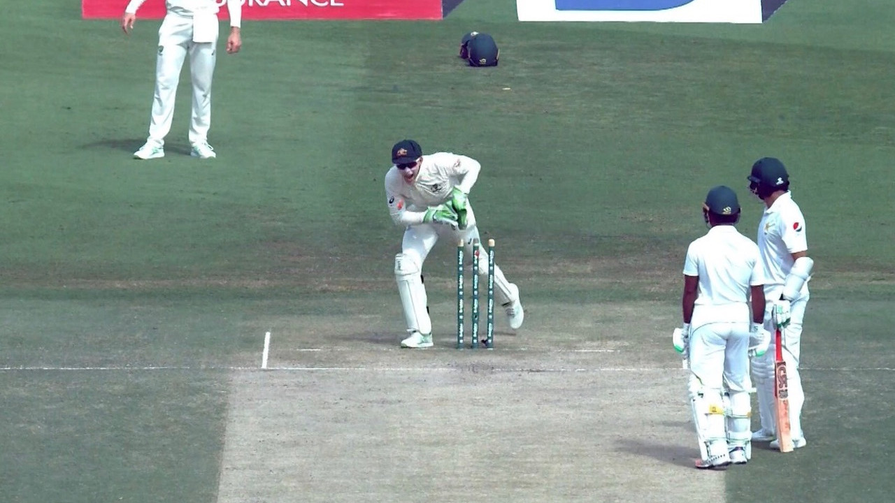 Twitter burst into laughter after watching side-splitting run-out of Azhar Ali