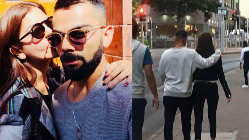 WATCH: Virat Kohli takes out time for wife Anushka to roam on the streets of Nottingham