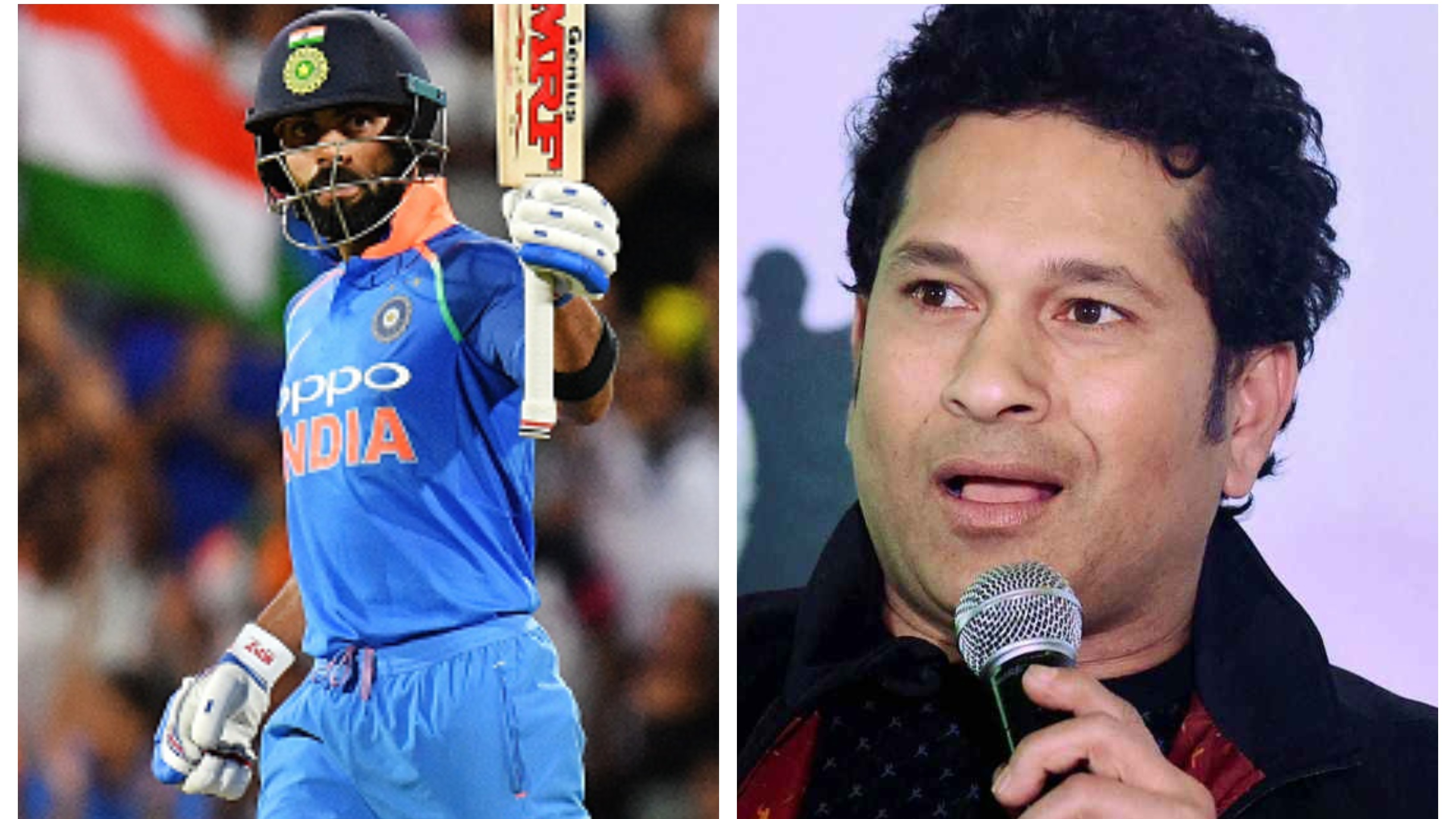 CWC 2019: Virat Kohli alone can't win the World Cup for India, says Sachin Tendulkar