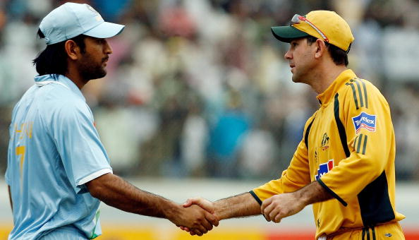 """I could never control my emotions like Dhoni,"""" Ricky Ponting ..."""