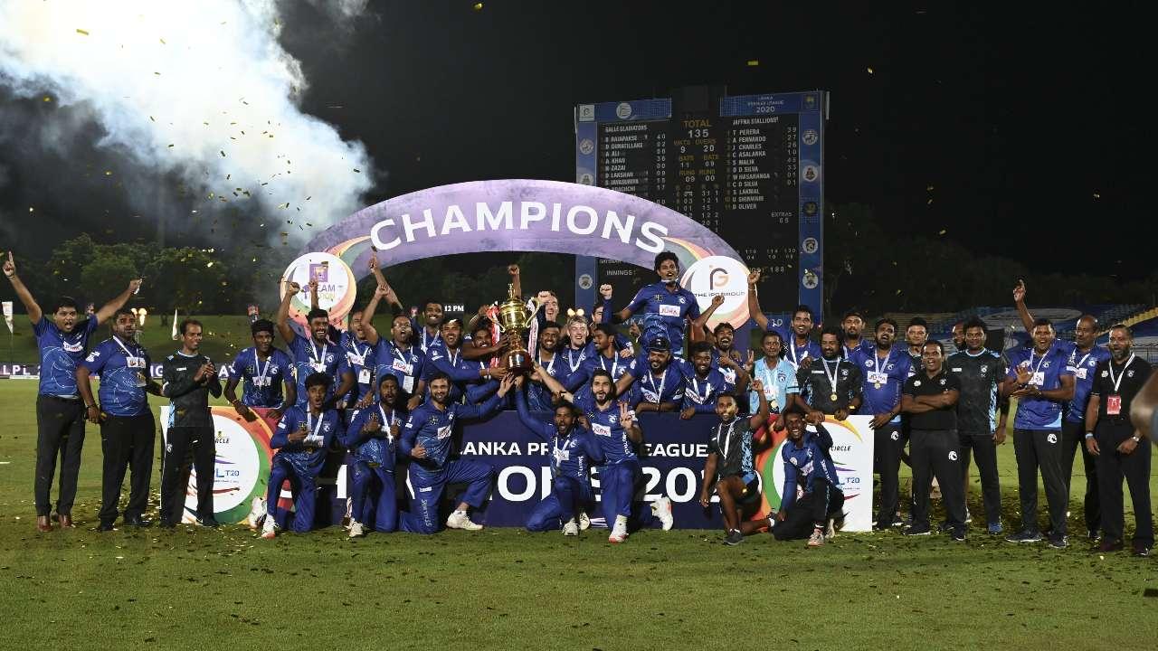 Jaffna Stallions won the LPL 2020 | AFP