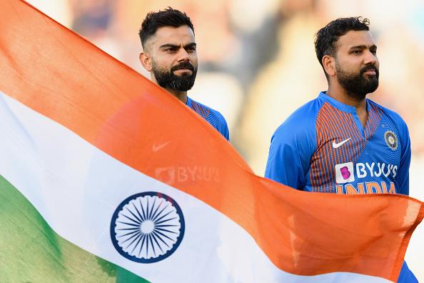 Virat Kohli and Rohit Sharma | GETTY