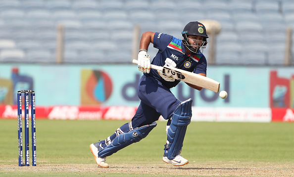 Rishabh Pant in the ODIs against England | Getty