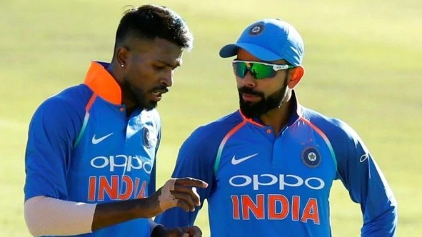Hardik Pandya astonished about the energy possessed by the Indian captain Virat Kohli