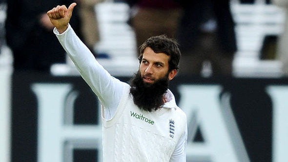 WATCH: England off-spinner Moeen Ali takes wickets by bowling medium pace