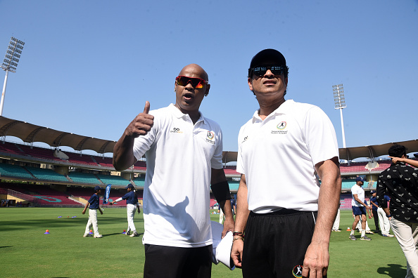 Vinod Kambli and Sachin Tendulkar | GETTY