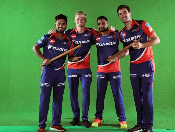Sam Billings with Rishabh Pant for Delhi Daredevils (now Delhi Capitals) in IPL | Getty