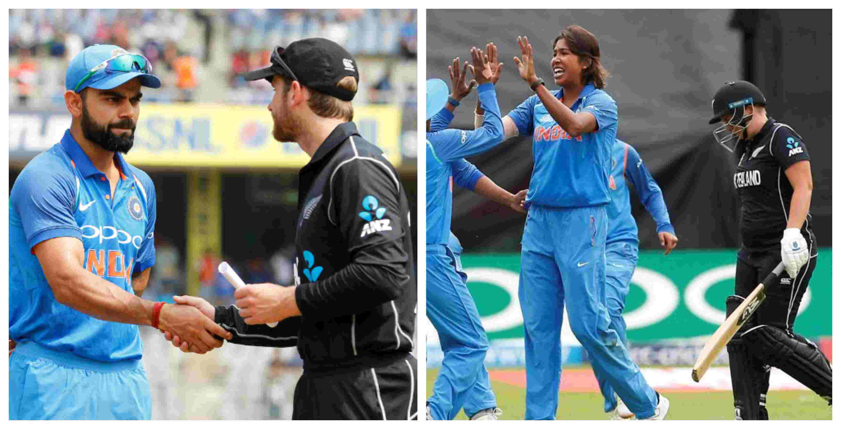 India's men and women's team will mark the start of their next year's cricket calendar by touring New Zealand