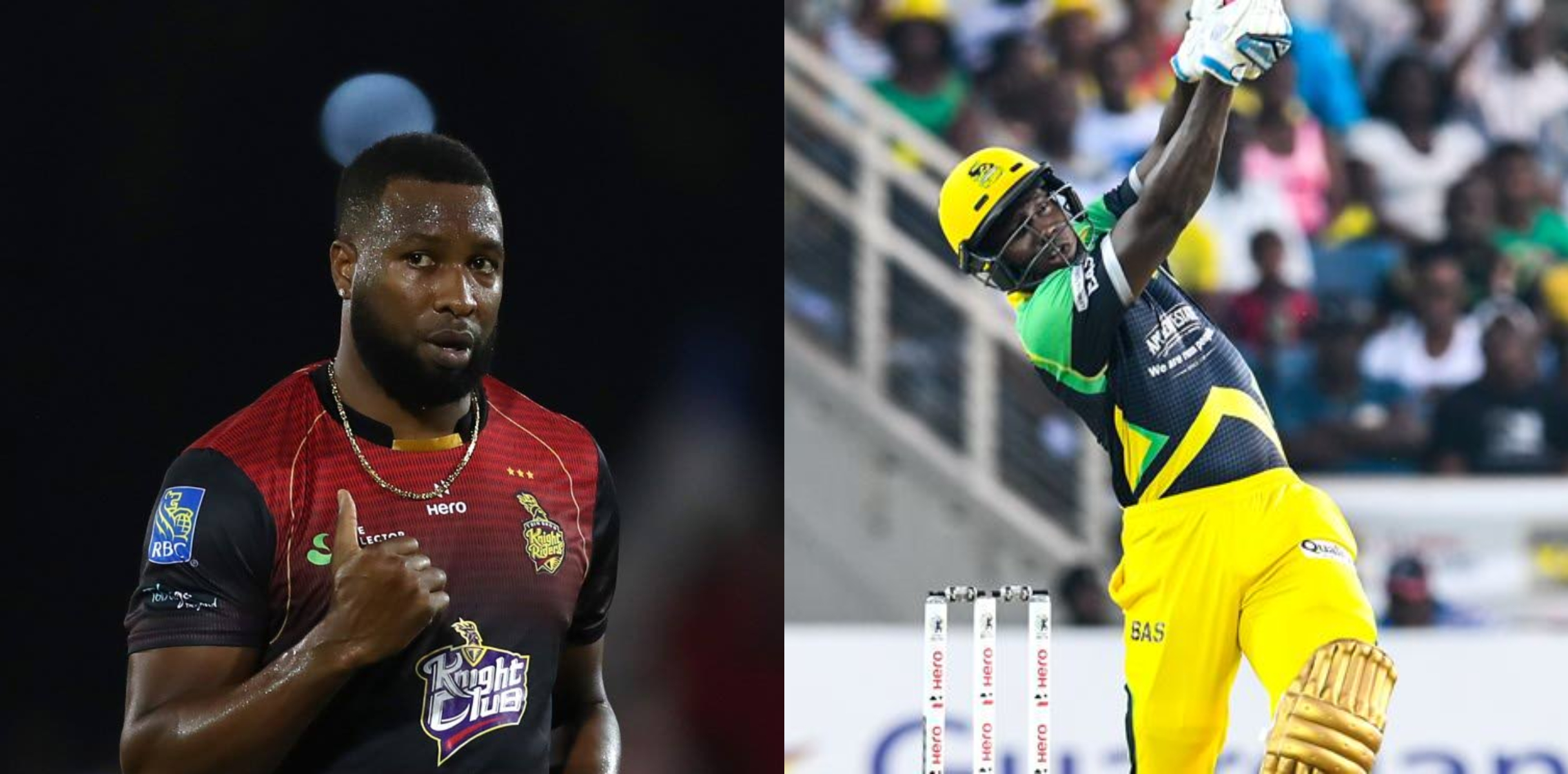 Trinbago Knight Riders will be up against Jamaica Tallawahs in the first semi-final