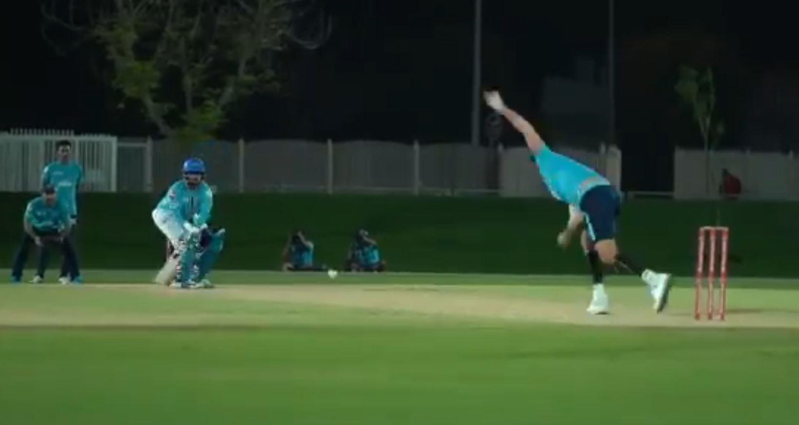 Rishabh Pant hits a reverse ramp shot against Ishant Sharma | Twitter