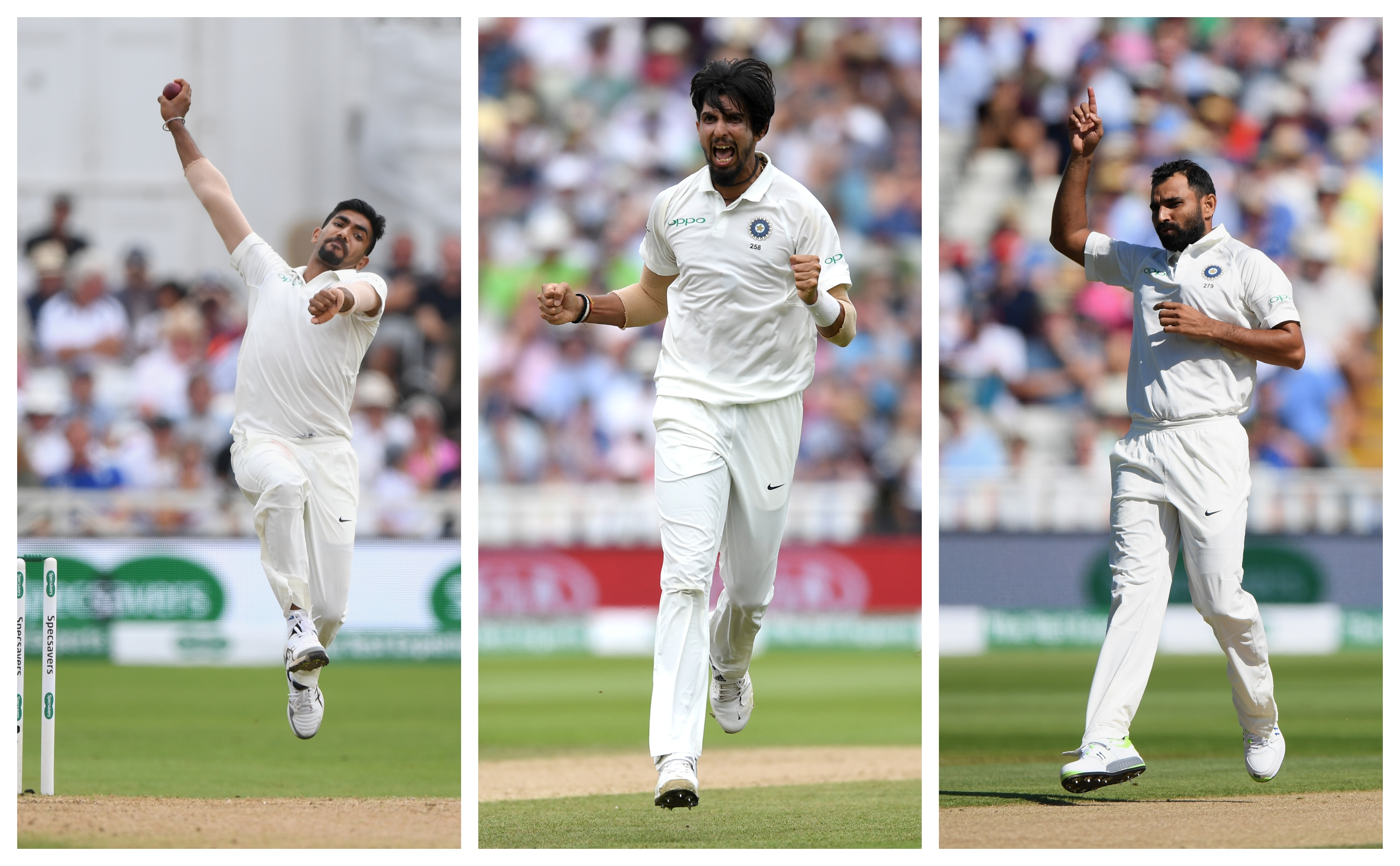 Ishant Sharma, Mohammad Shami and Jasprit Bumrah were magnificent in England