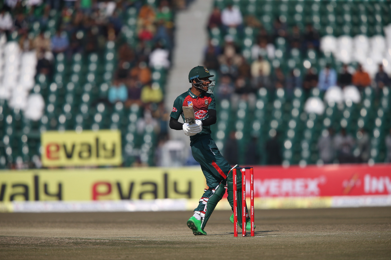 Mohammad Naim top-scored for Bangladesh | Twitter