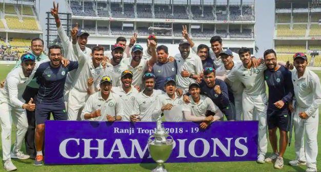 विजेता टीम विदर्भ | PTI
