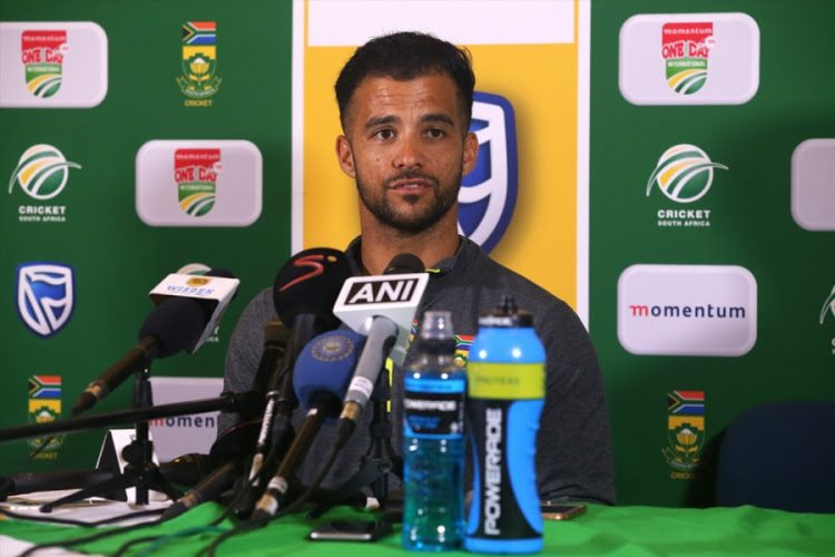 Duminy has criticized SA's poor batting effort for their T20I loss. (AFP)