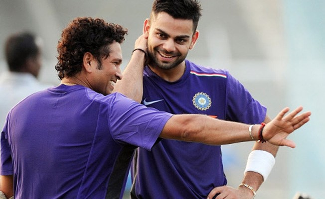 Sachin Tendulkar and Virat Kohli | Getty Images
