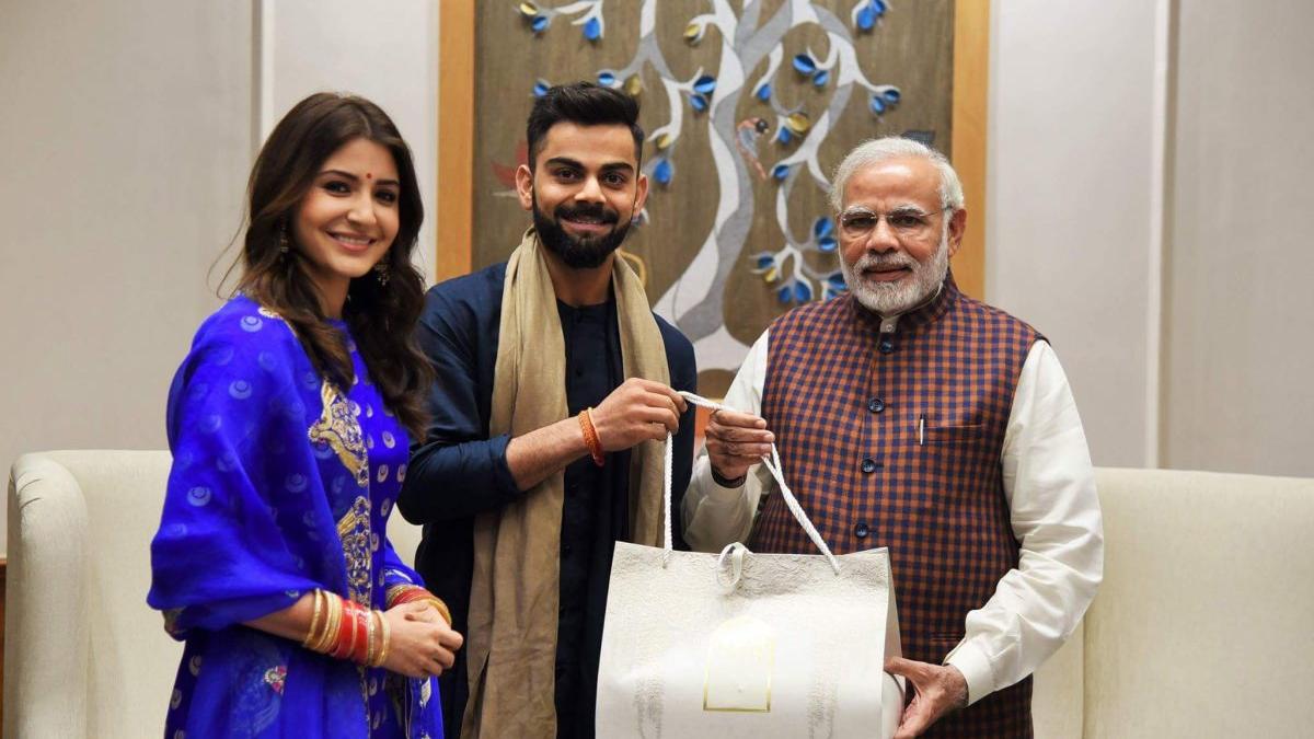 प्रधानमंत्री नरेंद्र मोदी ने स्वीकारा विराट कोहली का 'फिटनेस चैलेन्ज'