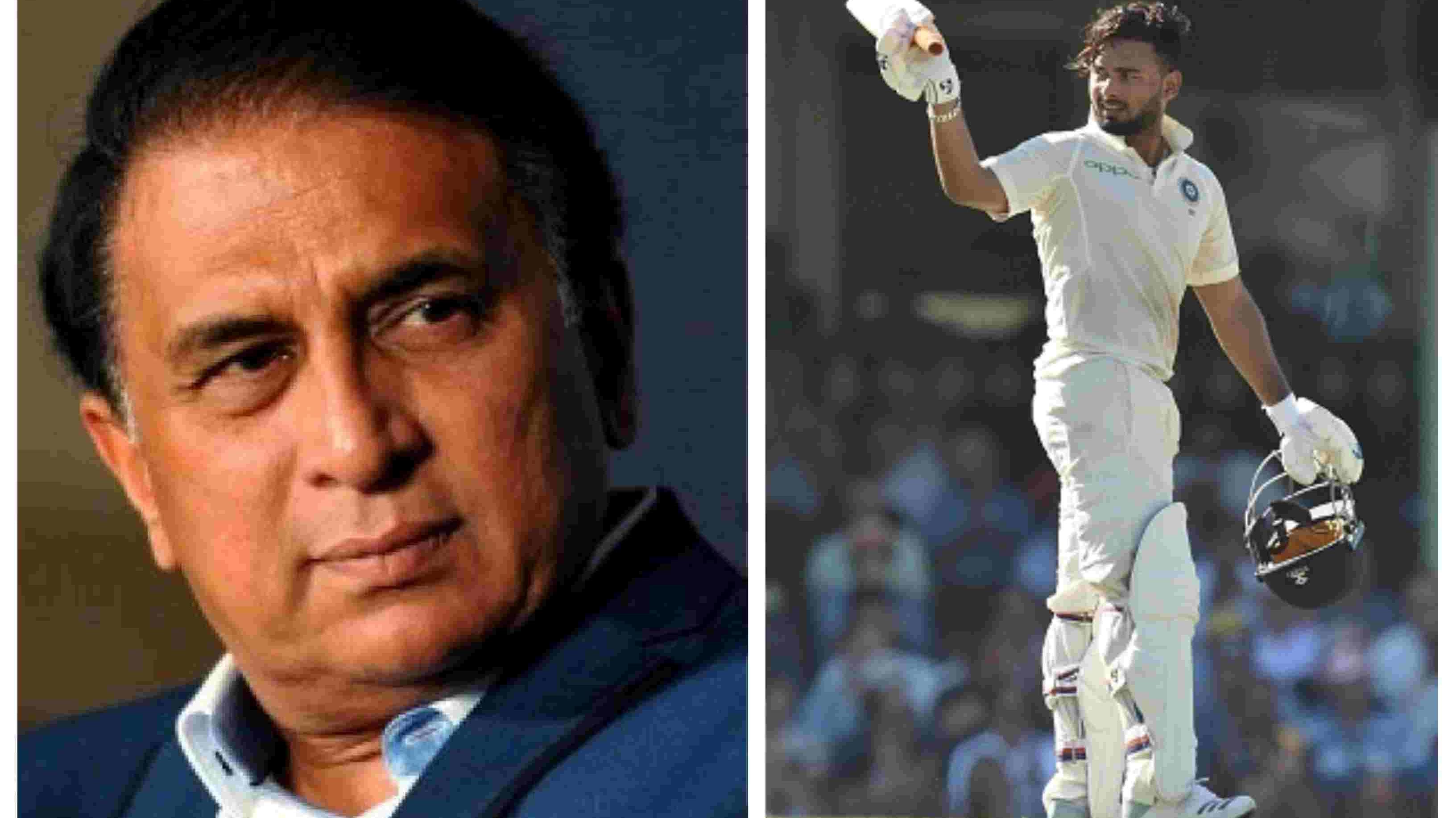 AUS v IND 2018-19: Gavaskar expects more Test tons from Rishabh Pant, wants him to bat at No. 6