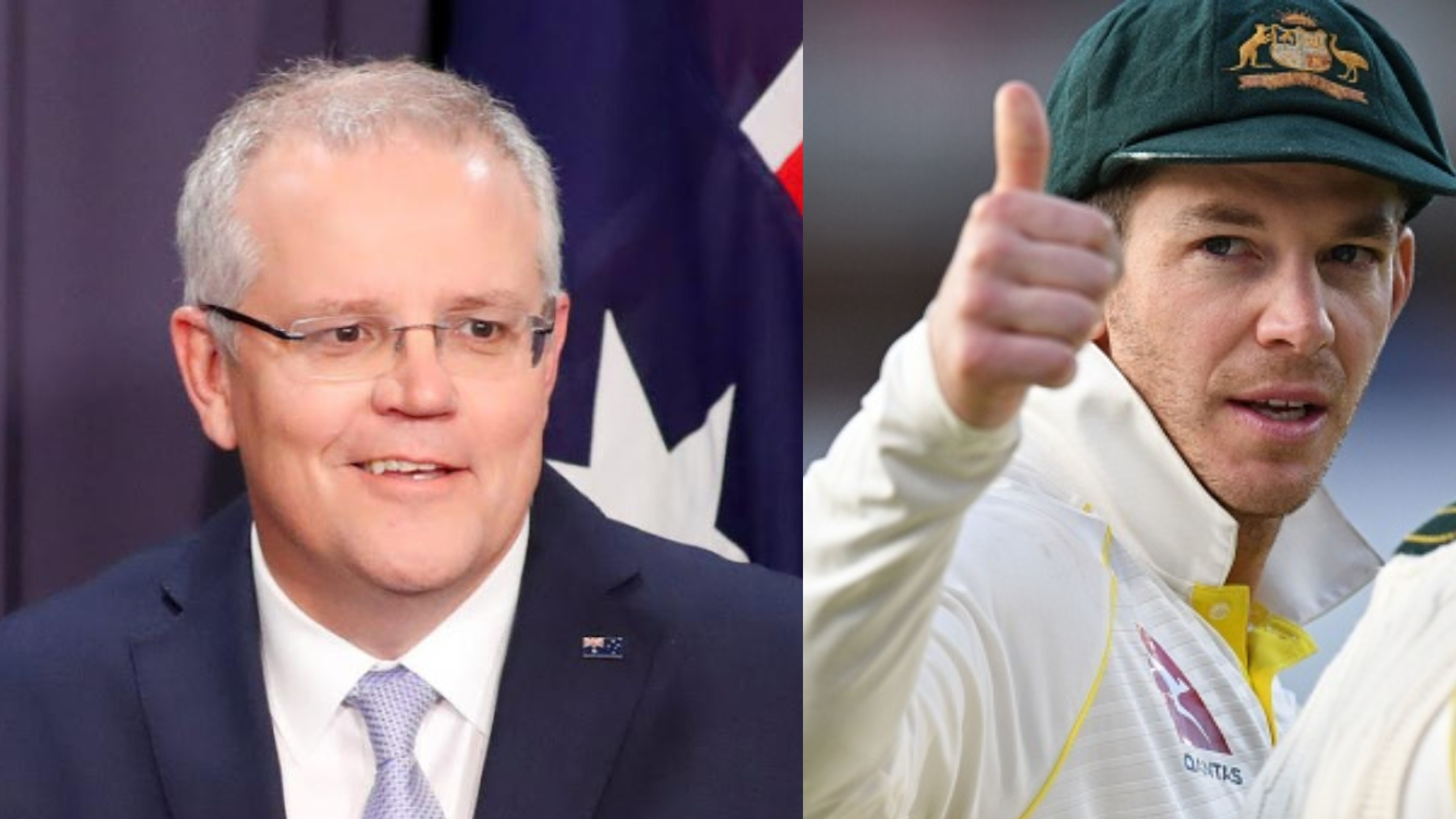 Ashes 2019: Tim Paine reveals Australian PM Scott Morrison's message after Old Trafford win