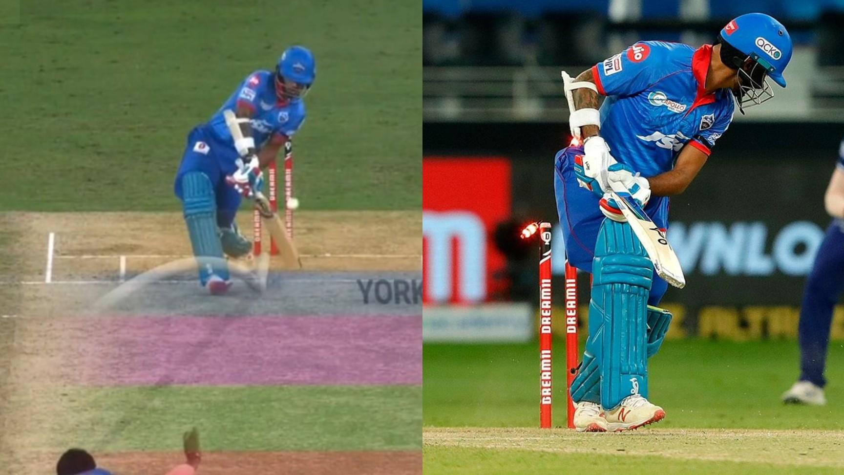 IPL 2020: WATCH- Jasprit Bumrah's amazing yorker sends Shikhar Dhawan back for duck