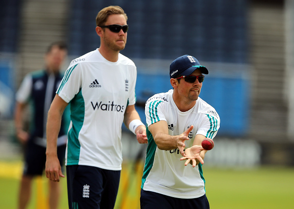 Stuart Broad and Alastair Cook | GETTY