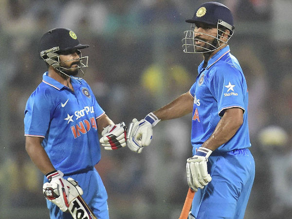 MS Dhoni could move to no.5 and a fit Kedar Jadhav might take the no.6 spot | AFP