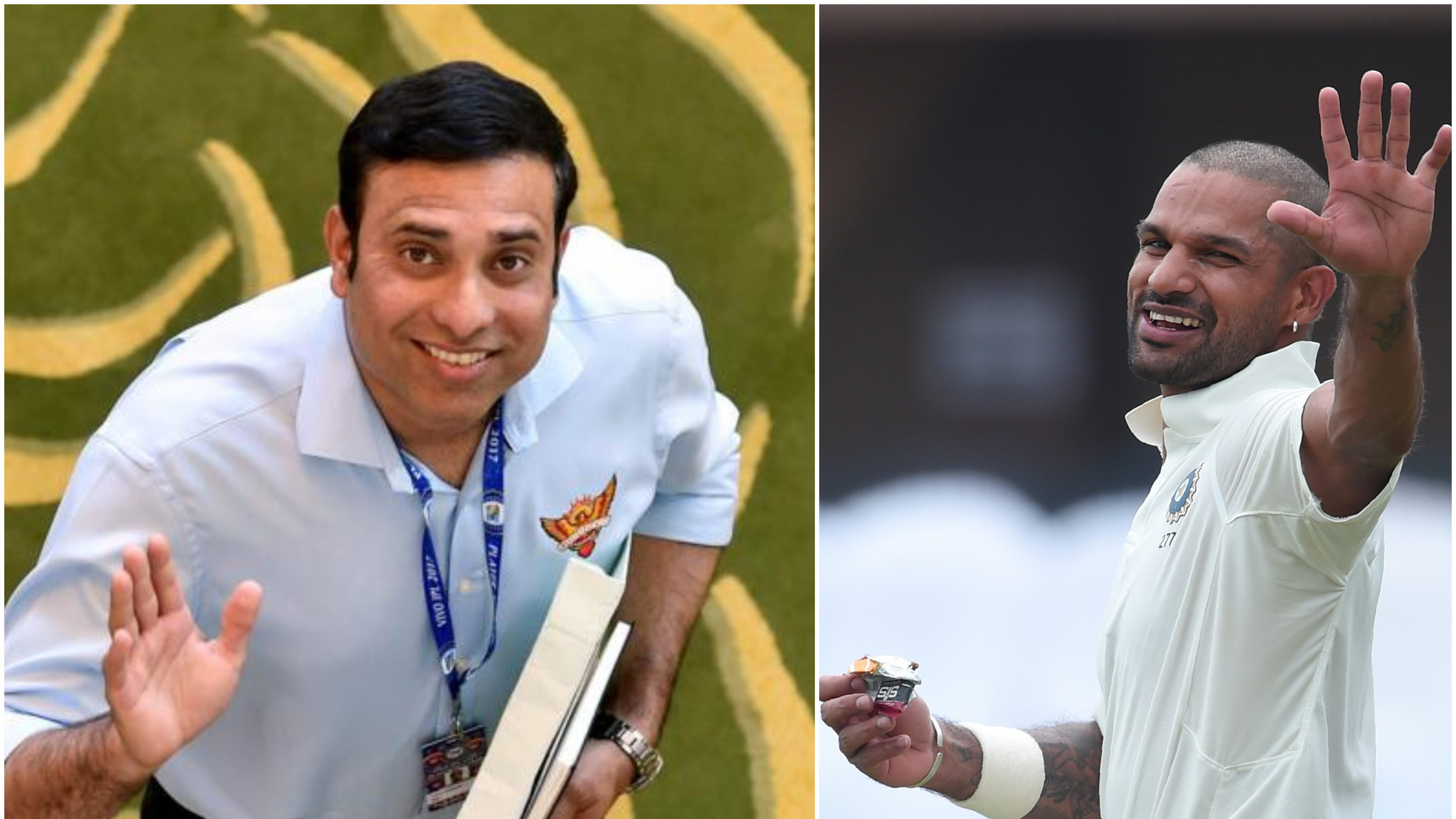 ENG vs IND 2018: VVS Laxman asks team management to stick with Shikhar Dhawan