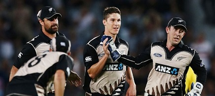 Ben Wheeler with New Zealand players   Getty Images