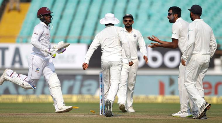 The Windies batsmen were all at sea against India's bowling attack | Twitter