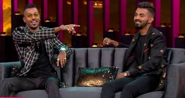 An appearance on a talk show has become a headache Hardik Pandya and KL Rahul